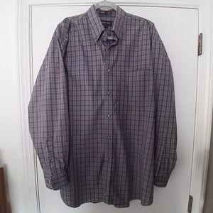 Nordstrom NWOT men's button up shirt size L